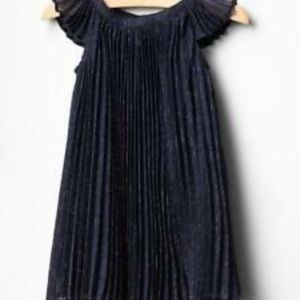 Baby GAP sparkly pleated chiffon party dress 4T